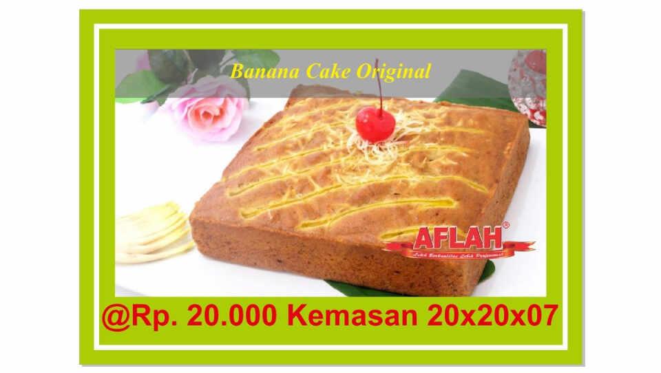 banana cake original utk acara aqiqah