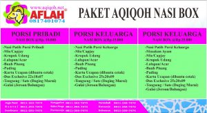 paket aqiqah yogya sesuai sunnah